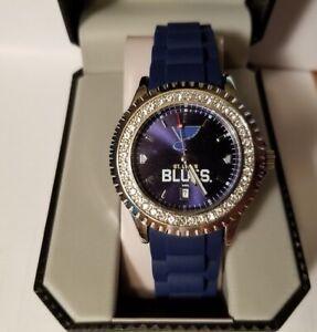 NHL St. Louis Blues Women's Sparkle Watch