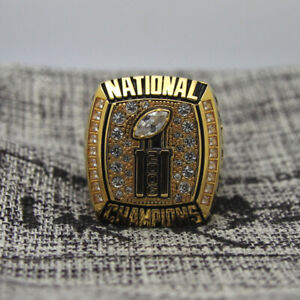 NCAA 2006 Florida Gators National Football Championship Copper Ring 8-14Size