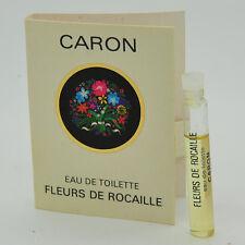 Vintage Caron Fleurs de Rocaille 2ml vial eau de toilette 30 YEARS OLD