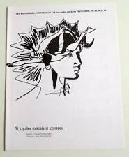 Partition sheet music CLAUDE NOUGARO : Si Cigales m'étaient Contées * 90's