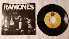 "THE RAMONES I Wanna Be Your Boyfriend +2 live ORIGINAL US 7"" Vinyl Single 45 PS"