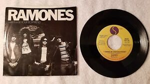 "THE RAMONES I Wanna Be Your Boyfriend +2 live ORIGINAL US 7"" Vinyl Single 45 PS"