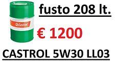 208 L.. CASTROL EDGE PROFESSIONAL LL III 5w-30 OLIO MOTORE VW 50400/50700 fusto