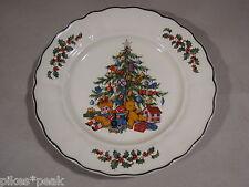 GRINDLEY Royal Tudor Christmas Tree Weihnachts-Teller Gebäckteller Ø 25 cm 65-9