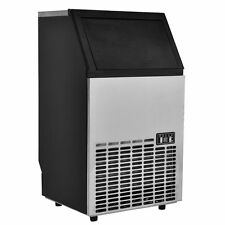 Built-In Stainless Steel Commercial Ice Maker Portable Ice Machine Restaurant