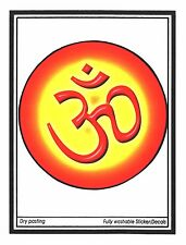 Traditional and Ethnic Large Aum Paper Sticker – Hindu Religious Sticker