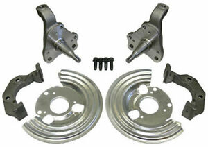 Mopar A B E body front disc brake conversion spindle set caliper brackets cuda