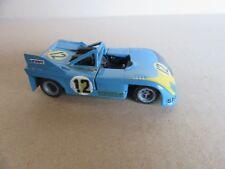226H Kit Artisanal Base Mercury Porsche 908/03 # 12 Joes Carreras 1:43