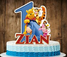 Winnie the Pooh and Friends Cake Topper