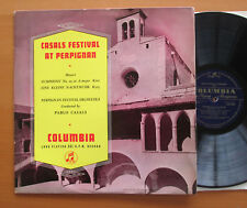 33CX 1088 Casals Festival At Perpignan Mozart Symphony 29 etc VG/EX Columbia ED1