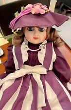 Beautiful Gorham Musical Porcelian Doll - Susan Stone Aiken Designer
