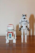 Custom Vintage Kenner Droids Stormtrooper and R5-D4 Figures
