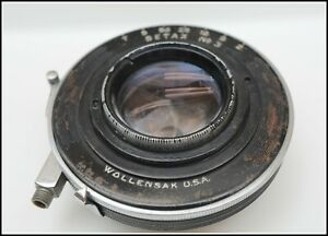 LENS LARGE FORMAT TESSAR IC 139 MME.F. F/4.5 BAUSCH & LOMB OPT. CO.