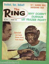#DD.  THE RING BOXING MAGAZINE, JANUARY 1972