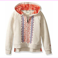 Roxy Girl Hoodies Jackets Metro Heather M-10/12