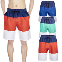 Men's Beach Shorts Quick-Dry Swim Trunks Sports Training with Mesh Casual Lining