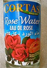 Premium Fresh Mediterranean Rose Water 10 oz 300ml Ayurvedic Cortas Lebanon