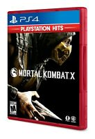 PLAYSTATION 4 PS4 GAME MORTAL KOMBAT X BRAND NEW AND SEALED