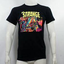 Authentic DOCTOR STRANGE Blacklight Poster Marvel Slim-Fit T-Shirt S-2XL NEW