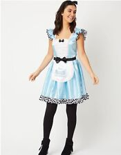 BNWT Disney Alice in Wonderland Adult Dress up costume Size 12-14