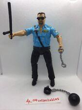 WWE WWF Big Boss Man + Weapon Accessories - Wrestling Action Figure Mattel 2011