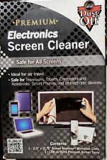 2 NEW KITS EcoSafe NoVOCs NoRun Any Screen Electronic Cleaner 2 Spray &2 Shammy