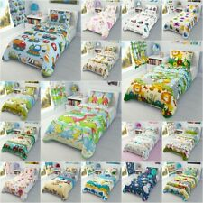 Cot Cot bed Toddler Bed Bedding Set Curtains Nursery Baby Boys Girls 100% Cotton