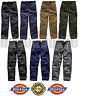 DICKIES WORK WEAR TROUSERS Redhawk SUPER ACTION CARGO COMBAT KNEE PADS WD814 884