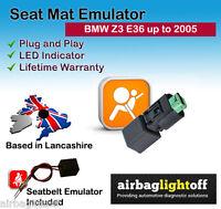 PASSENGER SEAT OCCUPANCY BYPASS MAT SENSOR AIRBAG Emulator For BMW Z3 Series E36