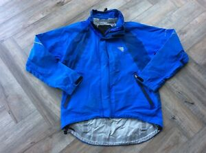 Endura EVENT Quality Waterproof Windproof Breathable Blue Shell Jacket Sz M