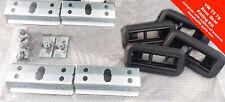 VW T5 T6 bench Triple Combi rear seat fixing kit, Inc reinforcing floor brackets