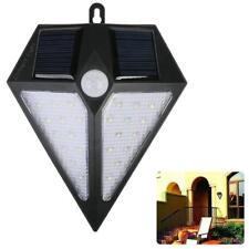 Solar Motion Sensor Garden Light 24 LED Lights Outdoor Home Wall Light Wireless