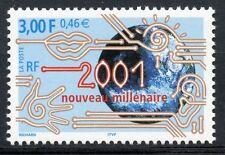 TIMBRE FRANCE NEUF N° 3357 **  2001 NOUVEAU MILLENAIRE