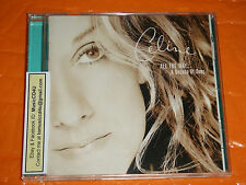 MusicCD4U Celine Dion - All The Way - A Decade Of Song Taiwan Press Rare