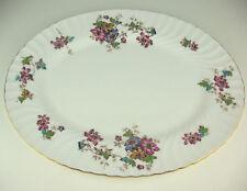 "Oval Serving Platter 15 1/4"" Minton Vermont s365 vintage bone china"