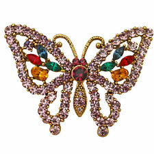 NEW KIRKS FOLLY  BELLA BUTTERFLY  PIN  GOLDTONE
