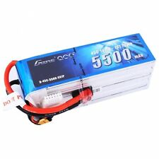 Gens Ace 5S 5500mAh 18.5V 45C 5S1P Lipo Battery Pack with Deans Plug End