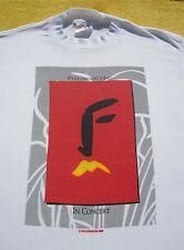 FLEETWOOD MAC vtg 1987 tour Long Sleeved MEDIUM T-SHIRT concert