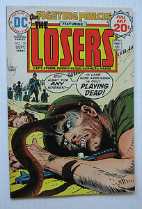 Our Fighting Forces/The Losers #150 (DC 9/74) VF- Joe Kubert-c/a Nice!!