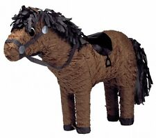 Brown Horse Pinata %7c Party Game %7c Decoration