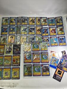 Lot of 90 Random Digimon Cards (Near Mint)