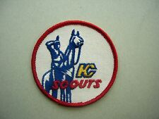 1974/75 1975/76 NHL HOCKEY PATCH KANSAS CITY SCOUTS TEAM LOGO SHARP!! 1970`S