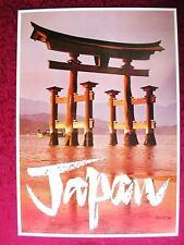 ORIGINAL 1960's   JAPAN TRAVEL POSTER         VINTAGE  60s JAPANESE LOOART