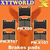 FRONT REAR Brake Pads YAMAHA TDM 850 1996 1997 1998 1999 2000 2001