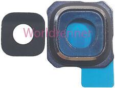 Lente Cámara BL Cubierta Camera Lens Original Glass Samsung Galaxy S6 Edge+ Duos