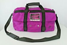 Nike Elite Bag Vintage 80s Track Gym Duffel Andre Agassi Purple Gray Tag