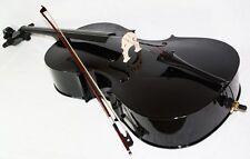 Neu schwarzes 4/4 Cello inklusive Bogen und Tasche