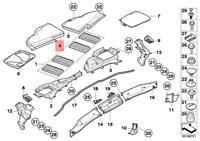 Genuine BMW E82E E90 E90N Cabin Air Filter Housing Upper N/S OEM 64316958815