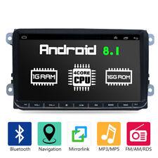 """9"""" Autoradio Android GPS Navigationsgeräte Für VW GOLF 5 V PASSAT Touran Tiguan"""