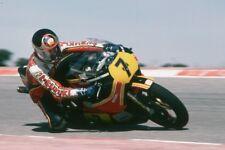 Barry Sheene Un-Signed 12x8 photo. Moto GP.